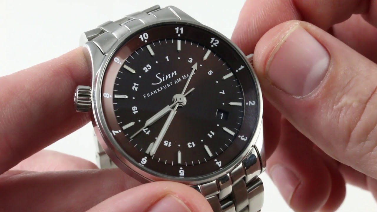 Sinn Frankfurt World Time Watch 6060.011 Luxury Watch Review