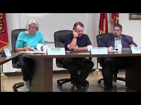 Marine City Commission Meeting Thursday, Sept. 21, 2017
