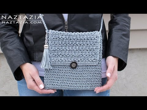 How to Crochet My Mini Bag – DIY Tutorial – Easy Handbag Purse Clutch Bolsa Borsa
