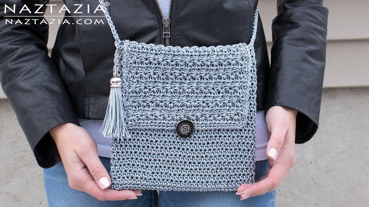 3184e1516b How To Crochet My Mini Bag Diy Tutorial Easy Handbag Purse