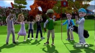 Kinect Sports Season 2 Demo: Golf Gameplay HD