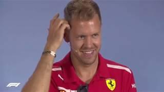 Sebastian Vettel - funniest moments 2018