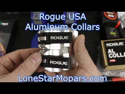 Rogue USA Aluminum Barbell Collars: First Impressions