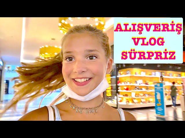 Alışveriş Vlog Sürpriz Ecrin Su Çoban