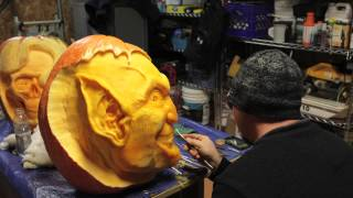 Lenny Calvin Creations: 3D Pumpkin Carving