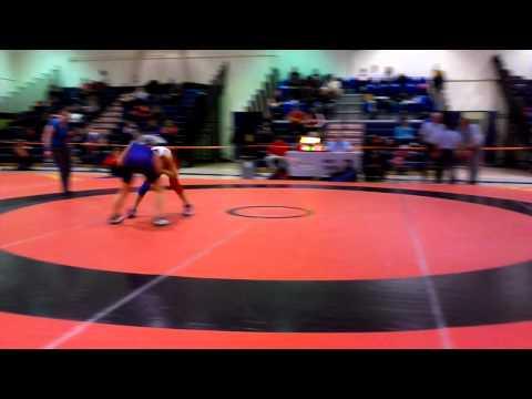2014 Ontario Juvenile Championships: 46 kg Farrantina Gatta vs. Sarah Hein