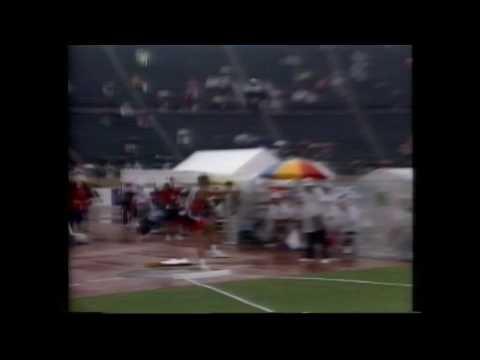 3518 World Track & Field 1991 Decathlon Shot Put Dan O