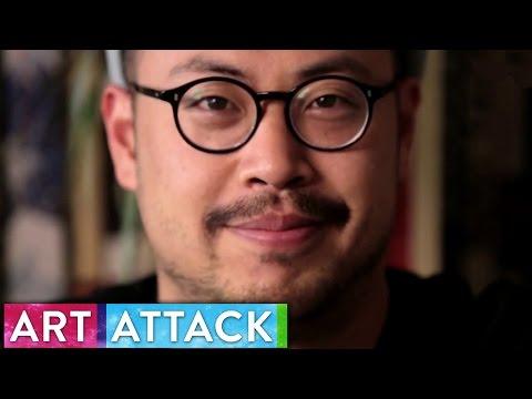 David Jien's Narrative Based Drawings | Art Attack