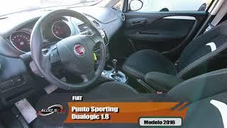 FIAT PUNTO SPORTING DUALOGIC 1.8 TOP DE LINHA AQUI NA ALDO'S CAR MULTIMARCAS