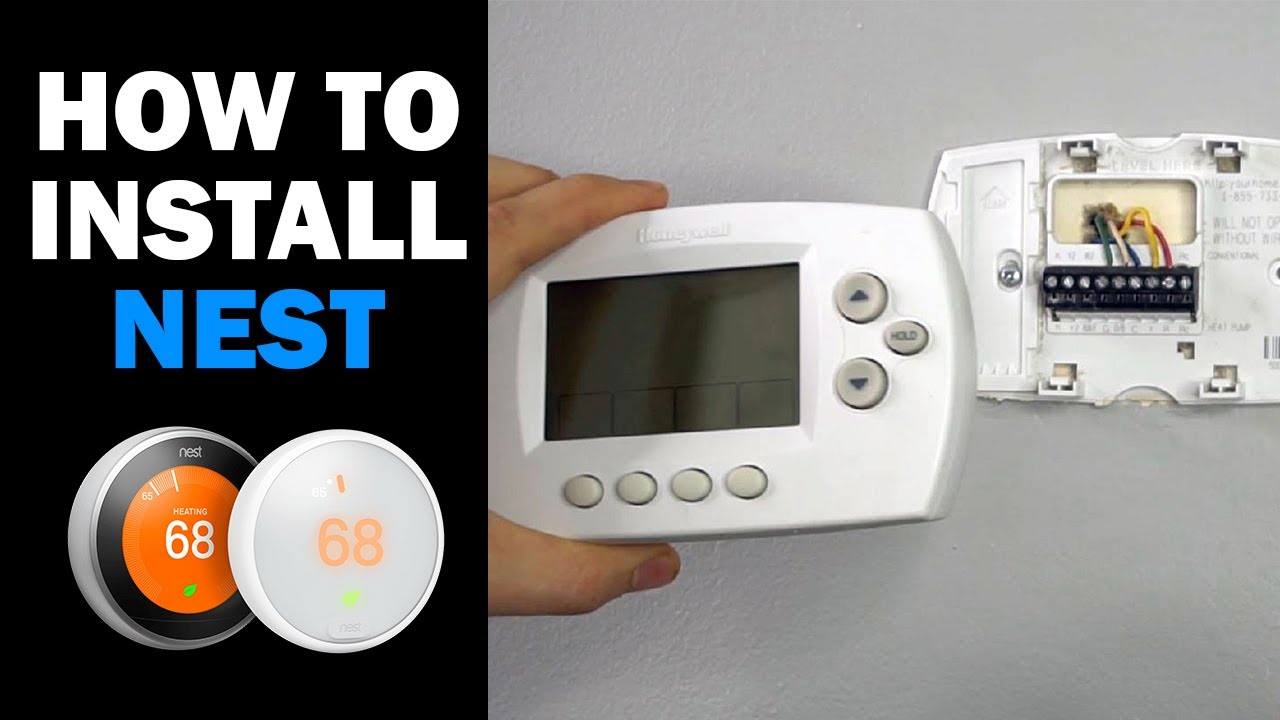How To Replace Hvac Thermostat  How To Install Nest