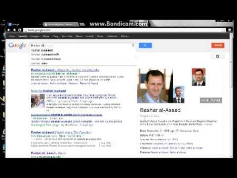 Bashar Al-Assad Website HACKED 4/8/2013