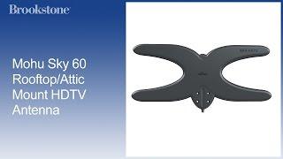 Mohu Sky 60 Rooftop/Attic Mount HDTV Antenna