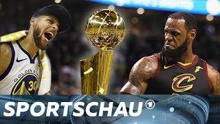 NBA Finals - LeBron James vs. Steph Curry I Unser Ausblick   Sportschau
