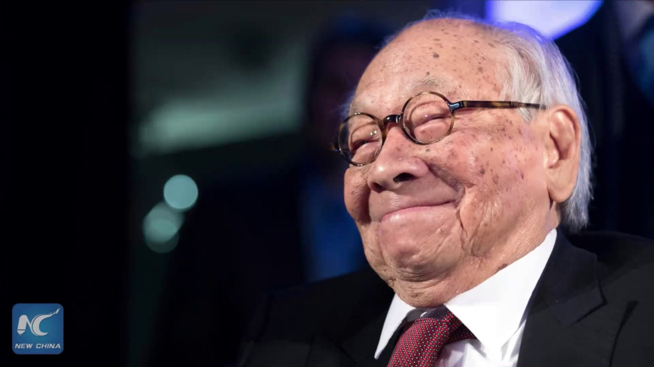Renowned architect IM Pei dead at 102