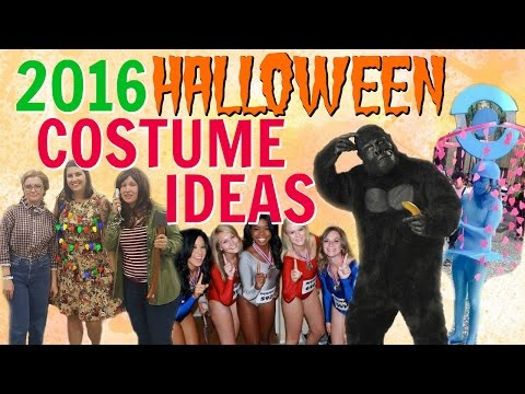DIY Halloween Costumes Ideas from 2016 Pop Culture & Trends!