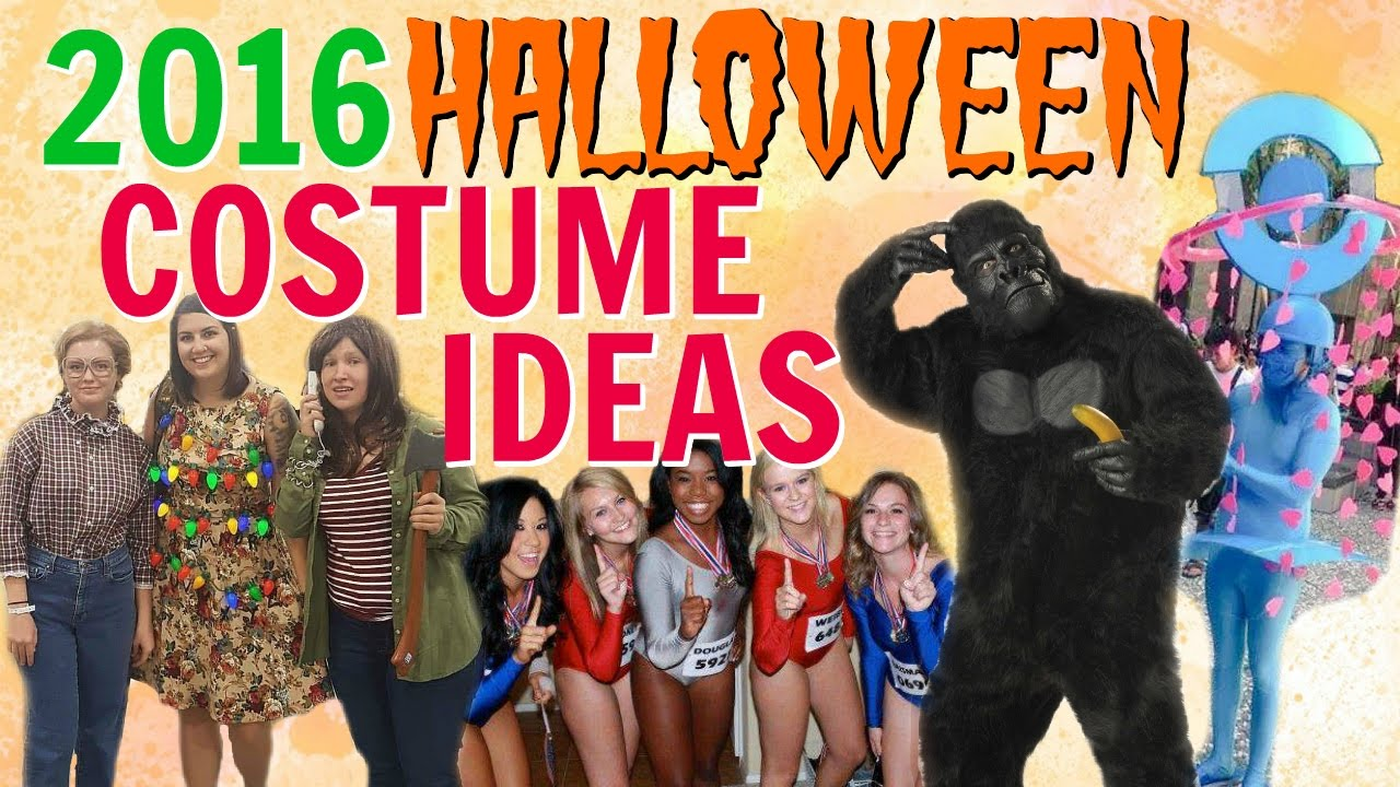 diy halloween costumes ideas from 2016 pop culture trends youtube