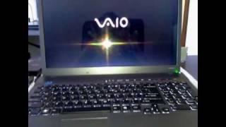 New Sony Vaio VPCF115FM (F SERIES) Hard Drive Crash