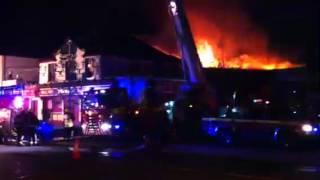Vevay Inn On Fire In Bray