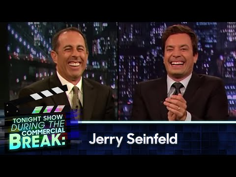 Thumbnail: Jimmy Fallon and Jerry Seinfeld During The Commercial Break (Late Night with Jimmy Fallon)