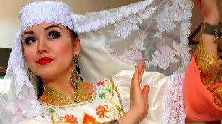комбинация мелких движений татарского танца и дроби.