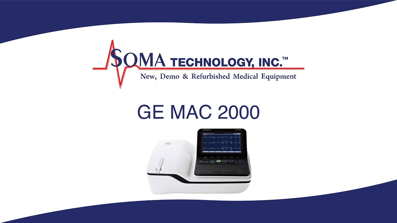 GE MAC 2000 Resting ECG System - Fast and Accurate Diagnosis