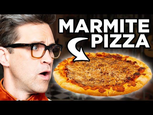 Marmite Pizza Taste Test