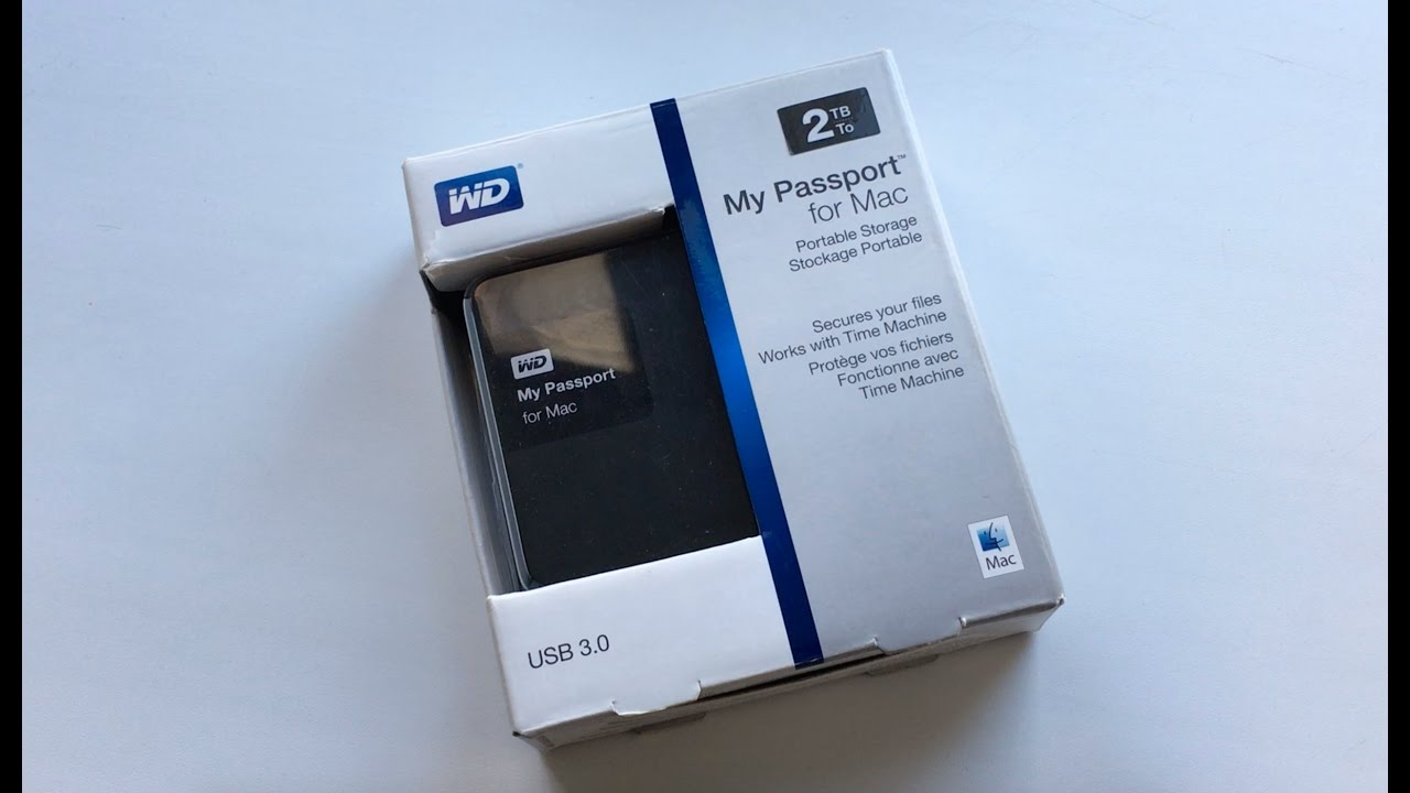 Western Digital My Passport For Mac 2TB