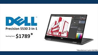Laptop overview - Dell Precision 5530 2-in-1
