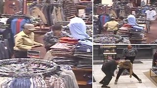 Securityman spots two women stealing clothes worth $1,000 from store