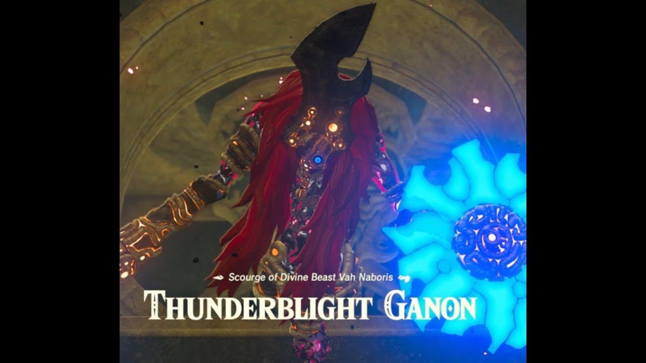 Zelda Botw Expansion Pass Dlc Pack 1 2 Thunderblight Ganon Walkthrough 155