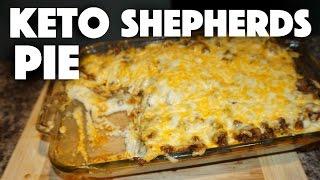 Keto Shepherds Pie Casserole - cauliflower casserole - mashed cauliflower - cauliflower recipe