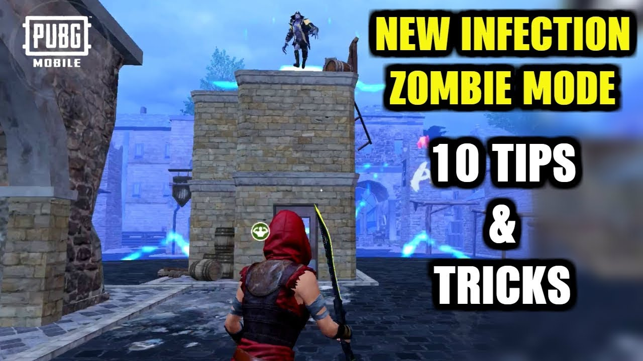 PUBG MOBILE NEW UPDATE 0 14 0 : TOP 10 TIPS & TRICKS TO SURVIVE & WIN IN  NEW ZOMBIE INFECTION MODE