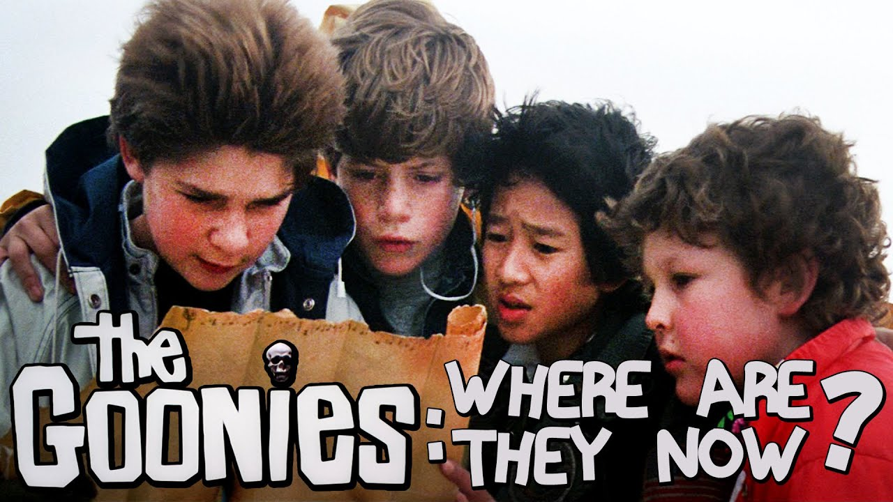 The Goonies: Where Are They Now? - YouTube