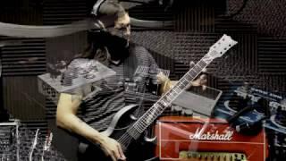 EMG 81/60 in ESP E-II Viper Baritone Guitar Solo Demo