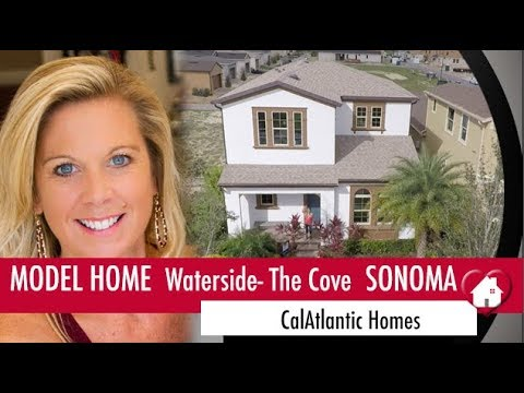 New Homes Winter Garden Florida Sonoma Model by CalAtlantic at Waterside The Cove