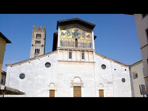 Basilica of San Frediano, Lucca, Tuscany, Italy, Europe
