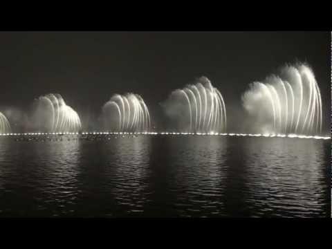 Water Show at West Lake Hangzhou China