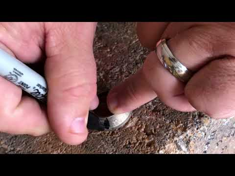 Making a Coin Ring with Powder Coating