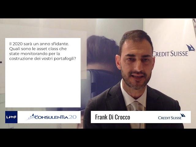 Consulentia 2020 - Frank Di Crocco (Credit Suisse)