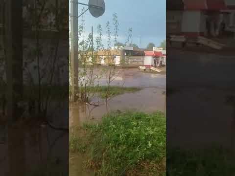 Дождь с грозой в Омутнинске