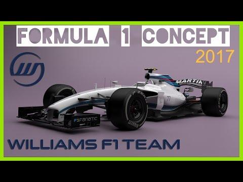 ♛ Williams Mercedes F1 2017 / Formula 1 Concept / F1 news ▄ ▀▄ ▀▄