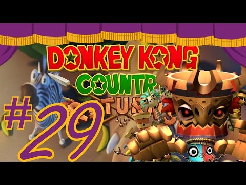 DK Country Returns: My neck, my back - STAGE 8-B - The Shenaniganza