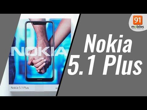 Nokia 5.1 Plus (Nokia X5): Unboxing | Hands On [Hindi हिन्दी]