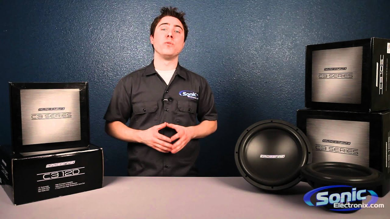 Crossfire C3 Car Subwoofers Audio Sub Youtube Amplifiers At Sonic Electronix 2016 Release Date