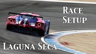 P CARS2: Race Setup (Ford GT LM @ Laguna Seca)
