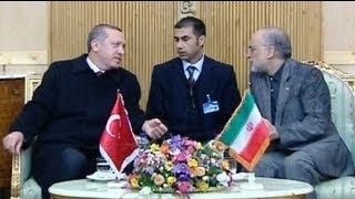 أردوغان في إيران