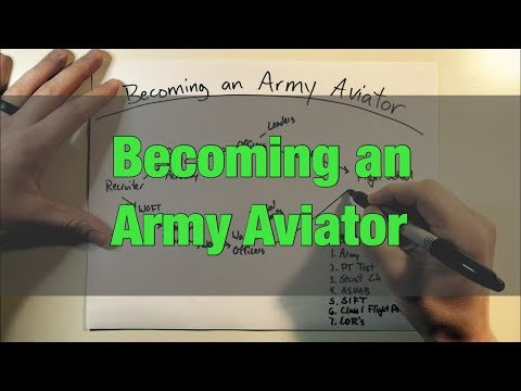 Becoming An Army Aviator
