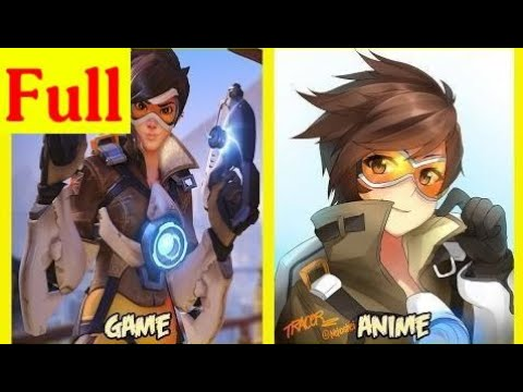 Overwatch Characters As Anime HD