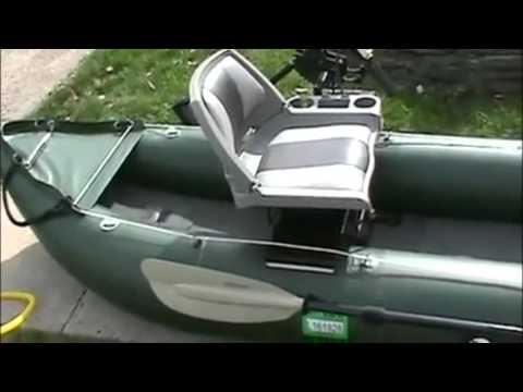 13' PRO Fishing Kayak  - Saturn FK 396 Inflatable Fishing Kayak Review