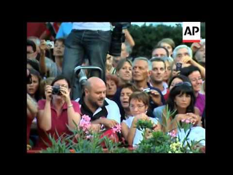 Sylvestor Stallone at Venice Film festival closing ceremony